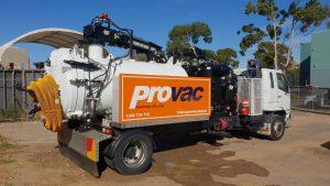 vac excavation truck