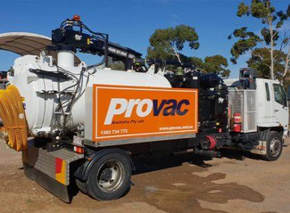 Provac Excavation Trucks