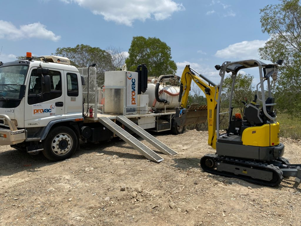 Provac Vacuum and Excavator hire